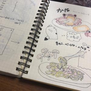 9月25日(水曜日)カニ入りクリームコロッケとベーコンきのこパスタ♪