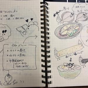 9月24日(火曜日)華麗に煮付け♪(うそ・・カレイの煮付け)