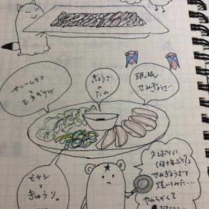 9月17日(木曜日)懐かしの眠眠「せみ餃子」