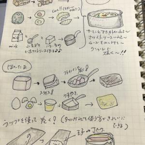 10月2日(火曜日)☆サーモンとアボカドの簡単グラタンとポーク卵おにぎり