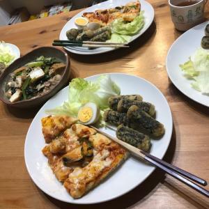 10月23日(水曜日)コストコメニュー☆シーフードピザと海苔巻き天ぷら