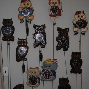 手塚時計「ぽっぽ時計」のコレクター