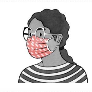 NewYork timesで掲載されたマスクの付け方