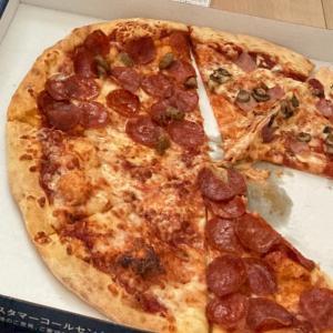 日本のピザは高価なものね