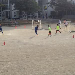 中学女子のフニーニョサッカーフェスタ