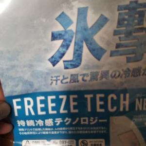 氷擊と冷感ミストひぇ~が大活躍