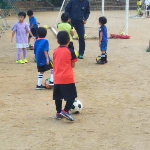 坂下キッズサッカースクール 幼稚園メンバーたち