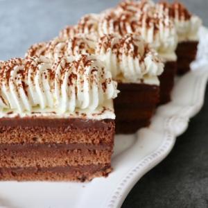 ケーキ試作