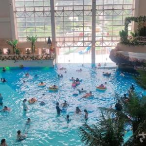 【画像付き】杉乃井ホテルのアクアビートは大人も子供も楽しめるプールアトラクションだった