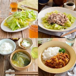 キャベツを4つに分けて1玉消費!簡単レシピ4品。副菜、おかず、汁物、作り置き。【農家のレシピ帳】