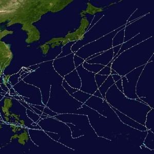 台風の用語集(最大風速・最大瞬間風速・hPa)