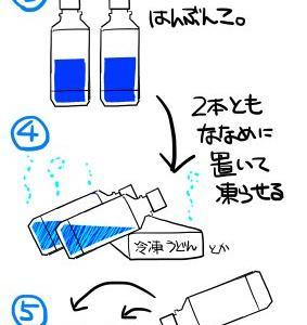 氷入りペットボトルの作り方