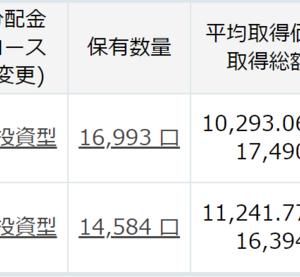 9月前半に3.5万円を投資 評価額が少しだけプラスになってます