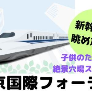 【東京国際フォーラム】新幹線が眺め放題!子供のための絶景穴場スポット