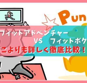 リングフィットアドベンチャー VS フィットボクシング どこよりも詳しく徹底比較!!