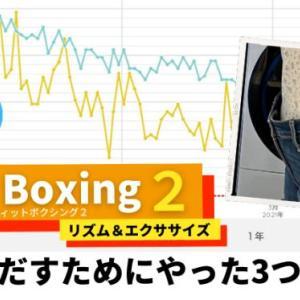 【フィットボクシング2は効果ある?】結果をだすためにやった3つの方法
