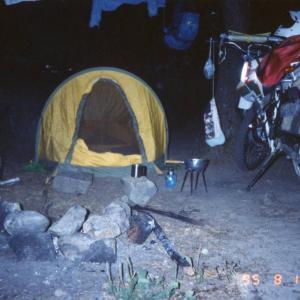 セロー 225  南信濃、天竜の旅