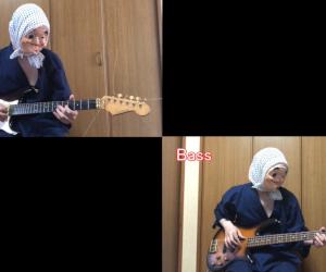 ギターでパッヘルベルのカノン弾いてみた