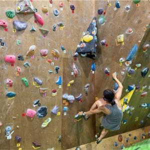 登る技術と走る技術