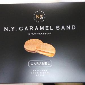 噂の「N.Y.キャラメルサンド」を頂きました