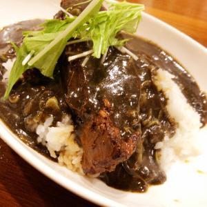 西部新宿駅近くのグリル&バー Hanaya(ハナヤ)を訪問 歌舞伎町の外れの地下という立地からは創造出来ない本格中華?のお店にて、飯テロ-1グランプリ優勝となる盤石の上海角煮カレーをいただいた