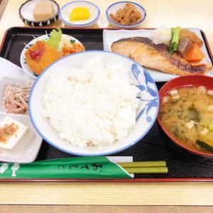 西部新宿駅近く、お食事の店 さつきにて鮭の西京焼き定食 定食として安くはない価格設定ながらも外れの無いウマさ、さらには品数の多さから高い満足感を得られるお店