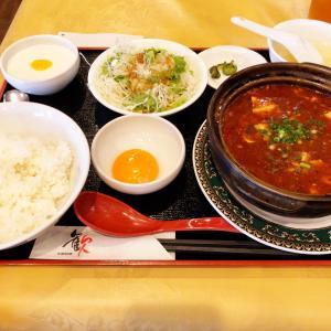 新宿三丁目駅近く、女性に人気の薬膳中華料理のお店 歓(ファン)新宿本店にて限定10皿となる激辛?激熱?土鍋麻婆豆腐をいただいた