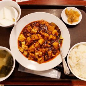 新宿東口の三九厨房 三号店にて麻婆豆腐定食 食べログワンコインサービスを使って500円ぽっきりで頂いた