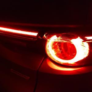 CX-8 のライトの光り方