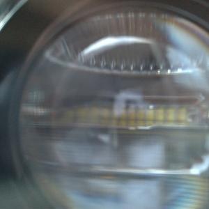 CX-8 ヘッドライトの12分割LED