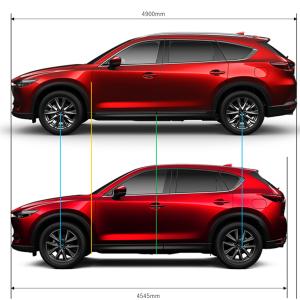 CX-8とCX-5を画像で比較してみました!