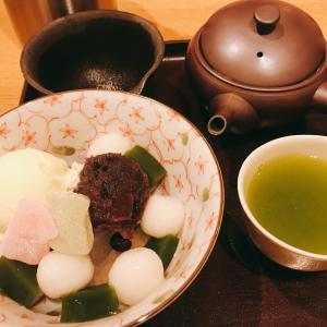 シャル鶴見の和カフェ「坐月 一葉」は日本茶を楽しめる甘味処。茶室もあってのんびりほっこり!