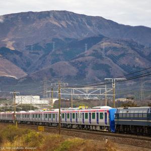 2020.1.26 8862レ EF65 2127+TX 3000系 12B 近江長岡-柏原