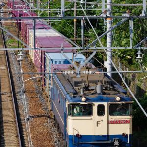 2020.5.29 74レ EF65 2097 新大阪-東淀川