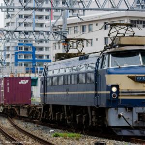 2020.6.14 91レ EF66 27 梅田信号所