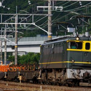 2020.6.17 9366レ EF65 1124 チキ12B 山崎-長岡京