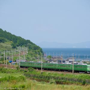 2021.5.29 回9244M クモヤ443系 近江高島-北小松