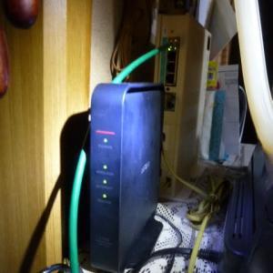 Wi-Fiが突然飛ばなくなった日/いやいや焦ったぜよ~・・其の設定完了編!