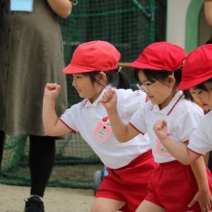 仙台からの孫娘便り・・その14/秋の運動会の写真。