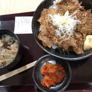 肉のヤマキ商店 イオンモール東浦のフードコートを再訪して味噌だれカルビ焼肉丼の肉吸いセットを食べてみた