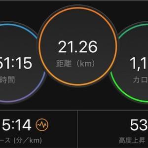 week6 水曜日/上尾シティマラソン