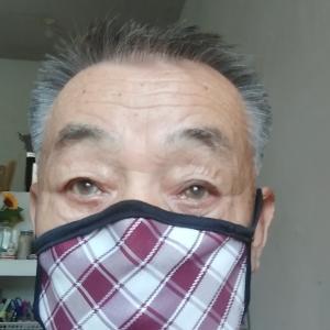 マスクを改良。