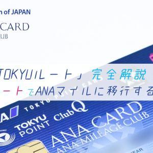 【TOKYUルート完全解説】ポイントサイトのポイントを最高レートでANAマイルに交換!