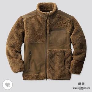ユニクロ MEN フリースコンビネーションジャケット