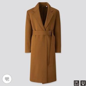 ユニクロ WOMEN ジャージーベルテッドコート