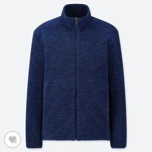 ユニクロ MEN フリースフルジップジャケット(長袖)