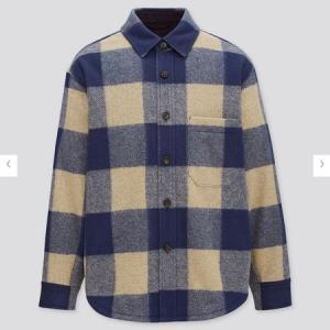 ユニクロ MEN オーバーシャツジャケット