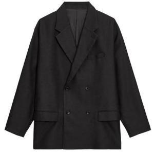 GU MEN オーバーサイズダブルブレストジャケットNT+E(セットアップ可能)