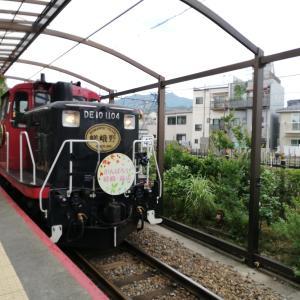 【京都】嵯峨野トロッコ列車で嵯峨・嵐山から明智光秀ゆかりの亀岡までGO!保津川を見下ろしながら、緑のトンネルを抜けよう♡
