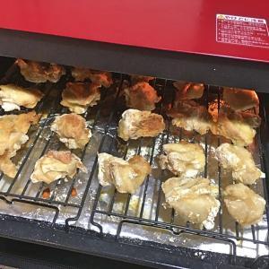 ヘルシオでから揚げを作る。これは手抜き料理だ